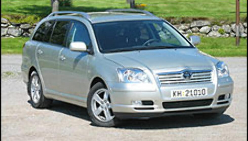 Titusener å spare på utvalgte Toyotamodeller
