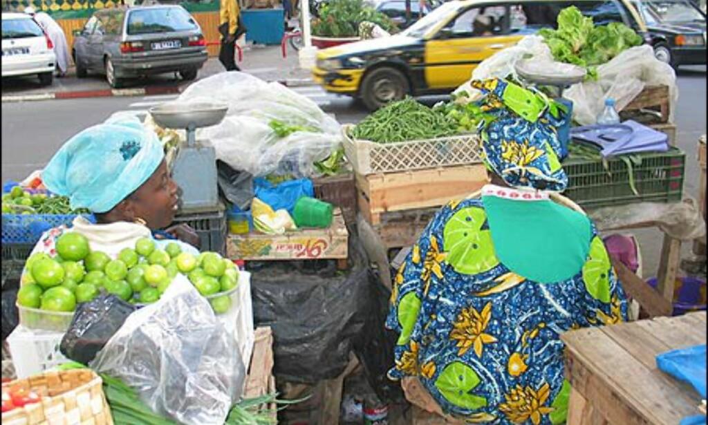 Dakar er en fargerik by i flere betydninger av ordet.
