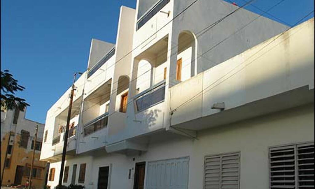 De moderne by-villaene holder høy standard og har ofte flotte fasader.