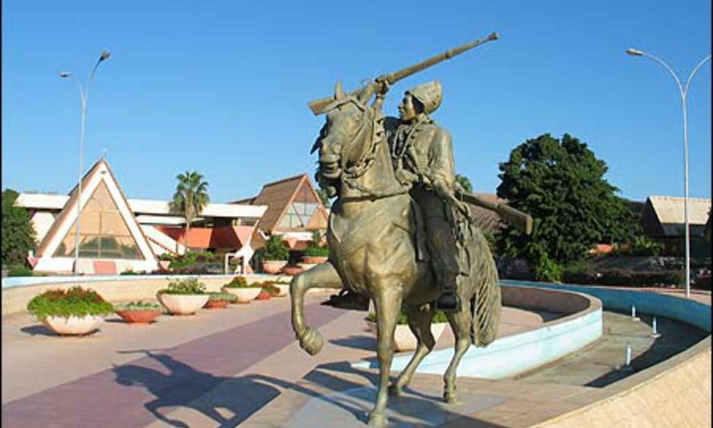 Det store business-senteret er et av Senegals stoltheter.