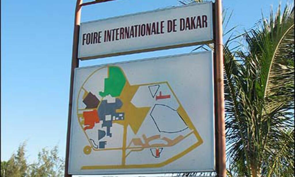 """En titt innenfor """"Foire internationale de Dakar"""" vitner imidlertid om fullstendig mangel på vedlikehold."""