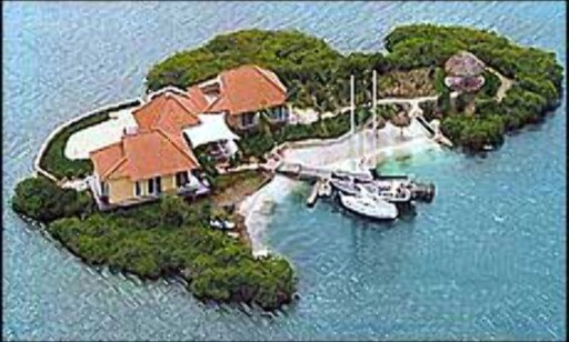 Spanish Water Quay i Karibia.  Fra Vladi Private Islands Foto: Vladi Private Islands