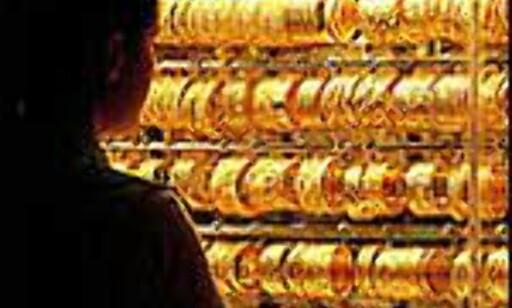 Gull er viktig for Dubais shoppere.