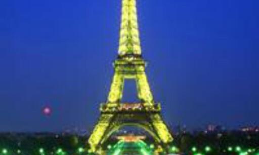 Vi blir aldri lei av Paris, the city of lights