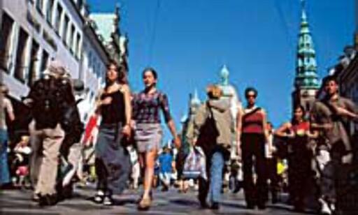 Visste vi det ikke ... Kvinner vil helst til steder der de kan få gitt Visa-kortet en real treningsøkt. Her ser vi Strøget i København. Foto: Ireneusz Cyranek/Wonderful Copenhagen