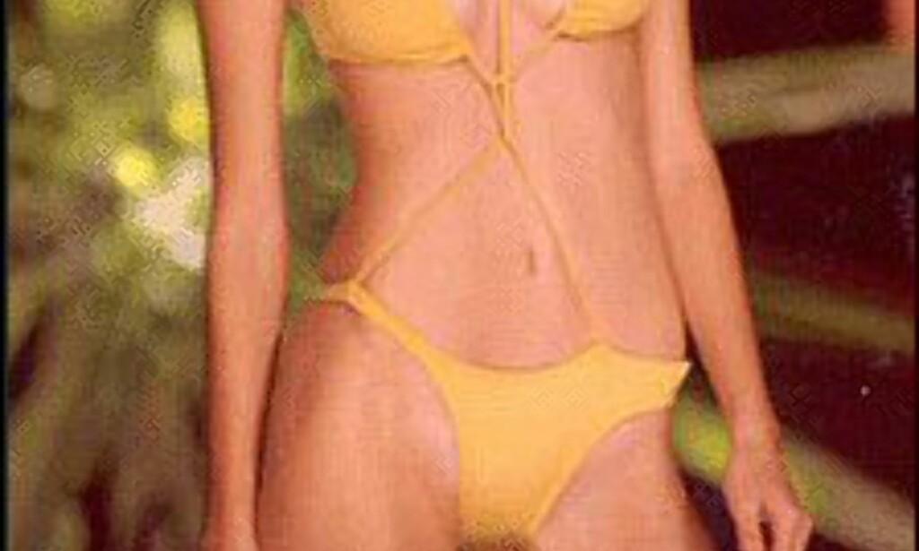 Bikini - Brasils viktigste antrekk? Denne bikinien står den brasilianske designeren Rosa Chá for.  Foto: Rosa Cha Foto: www.brazil.org.uk