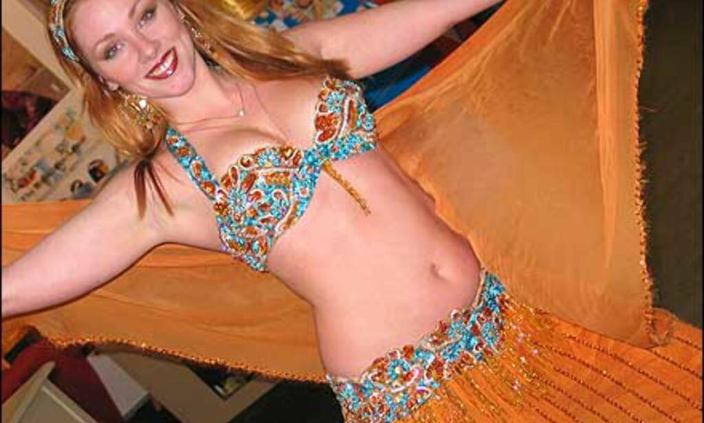 Egypts magedanserinner er populære, og deltar hvert år. Foto: Karoline Brubæk Foto: Karoline