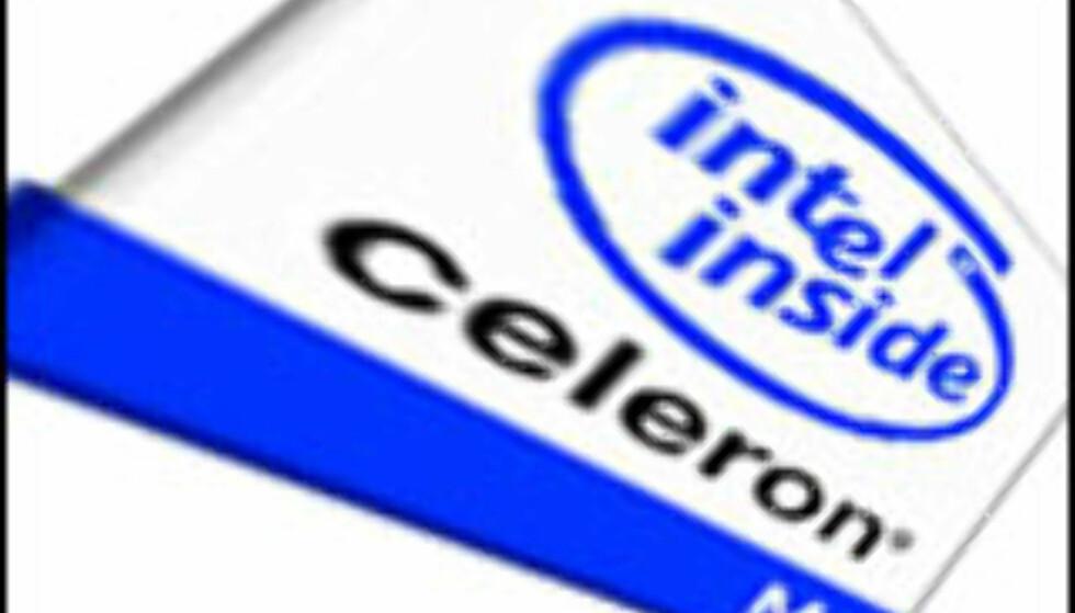 Intel klar med Celeron M