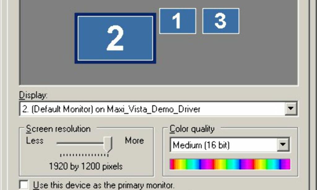 image: TEST: Bærbar PC som ekstra skjerm