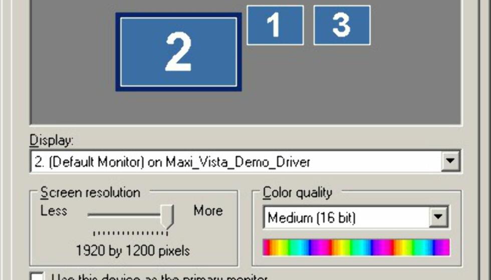 TEST: Bærbar PC som ekstra skjerm