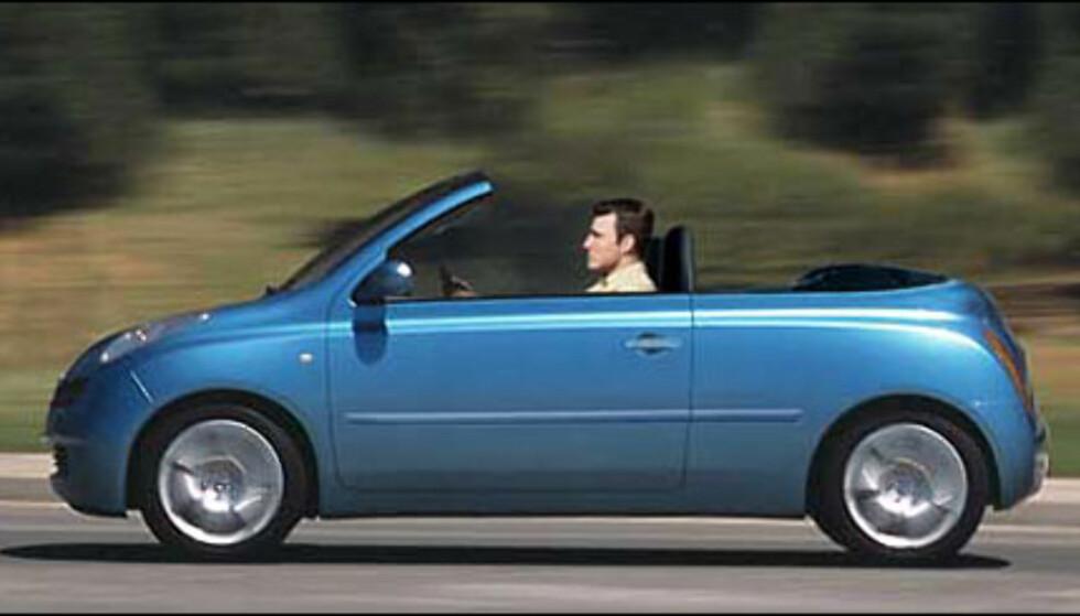 Nissan utvider Micra-sortimentet med en kabriolet (manipulert bilde).
