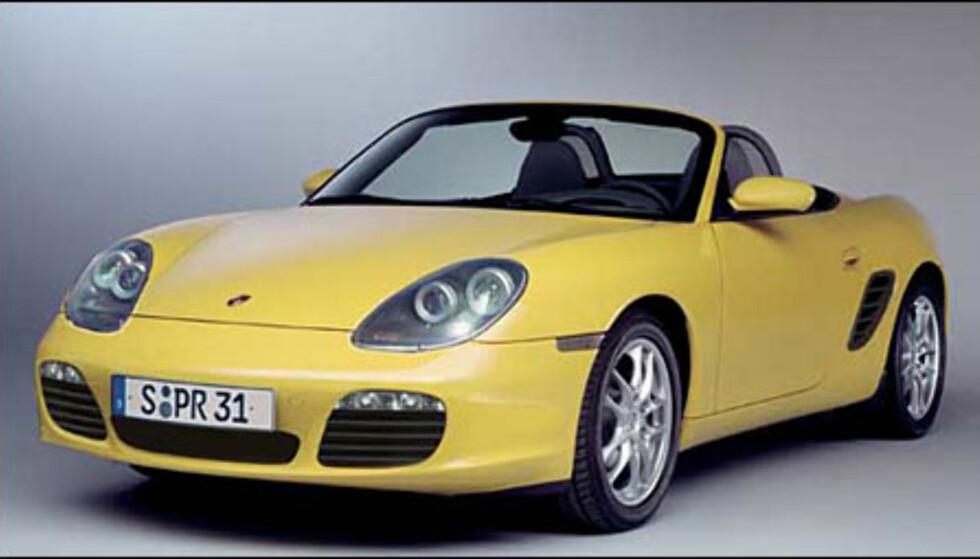 En ny Porsche Boxter er ventet mot slutten av året (manipulert bilde).