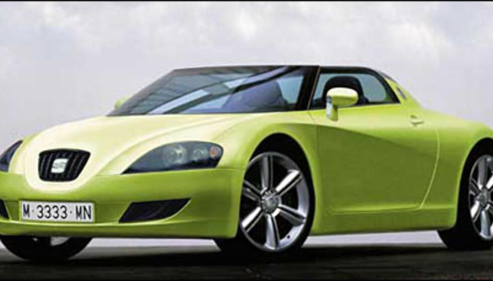 Polo-plattfomen gir verden tre kabrioleter. Seats versjon er ventet sommeren 2005 (manipulert bilde).