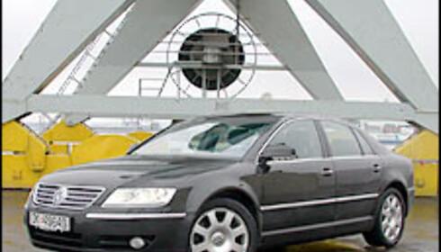 VW Phaeton W12.