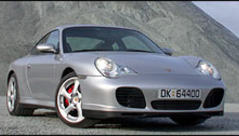 Porsche 911 Carrera 4S.