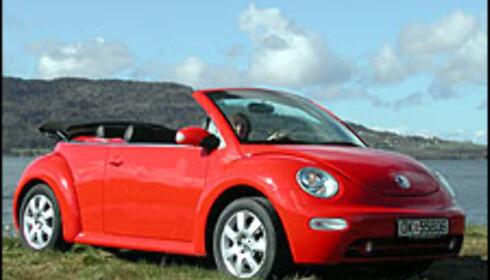 VW Beetle kabriolet.