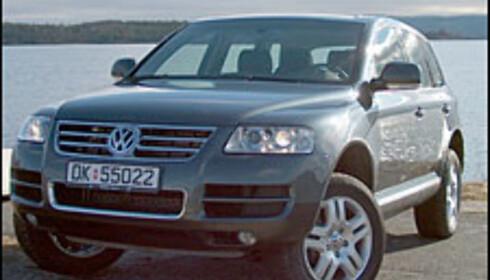 VW Touareg V10 TDI.