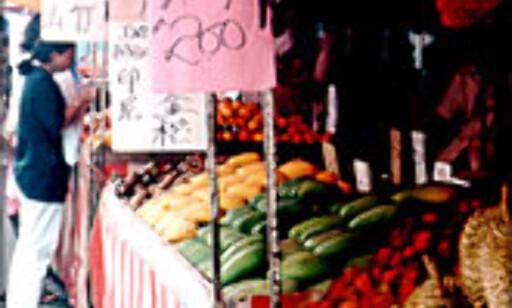 Frisk frukt, og annen god mat, er ifølge leserne bare ett av Malaysias fortrinn. FOTO: Dag Scheve.