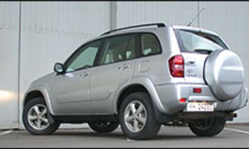 SYMBOLET: Toyota RAV4 symboliserer japanernes dominans i små-SUV-markedet.