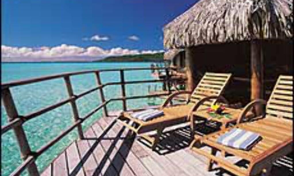 Sydhavsluksus på påler, Tahiti. <I>Foto: Taha'a Pearl Beach Resort & Spa</I>