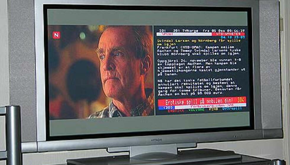 Smart tekst-TV-funksjon
