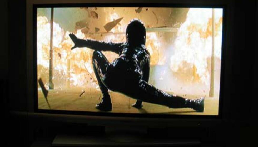 Matrix - film nummer to - kommer meget godt fra det på denne TVen.