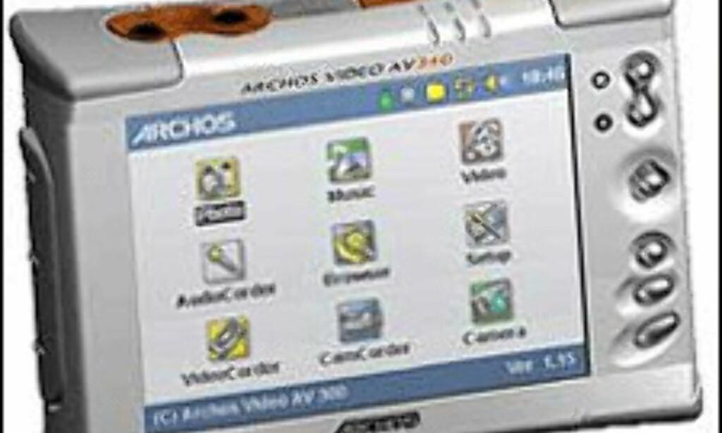 Archos AV340 40GB m/videofunksjoner.