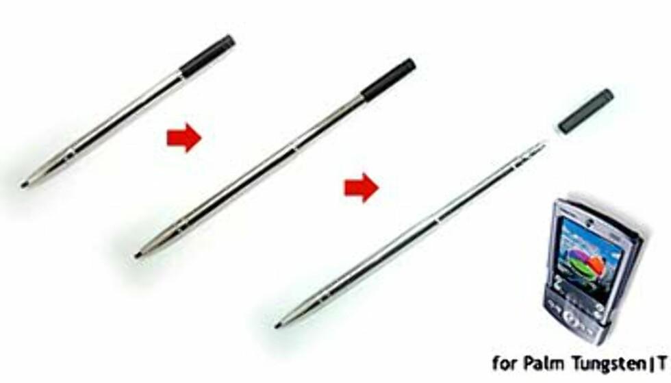 To i en - stillig penn som også virker på PDAer fra Tungsten