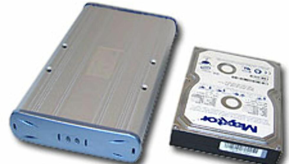 eMagic harddisk-kabinett.