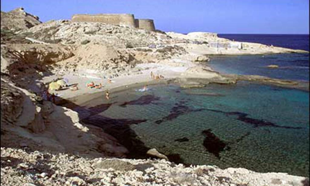 Strendene i Cabo de Gata har rykte på seg å være Spanias aller vakreste. At de i tillegg nesten er folketomme er en velkommen kontrast for alle som tidligere har prøvd seg på sild-i-tønne-strender. Foto: www.photito.com