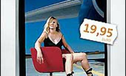Frankfurt-Hahns kalenderdamer i storformat trykkes i begrenset opplag. Faksimile fra Hahn Airport