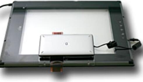 HP Scanjet 4670: Elegant gjennomsiktig skanner