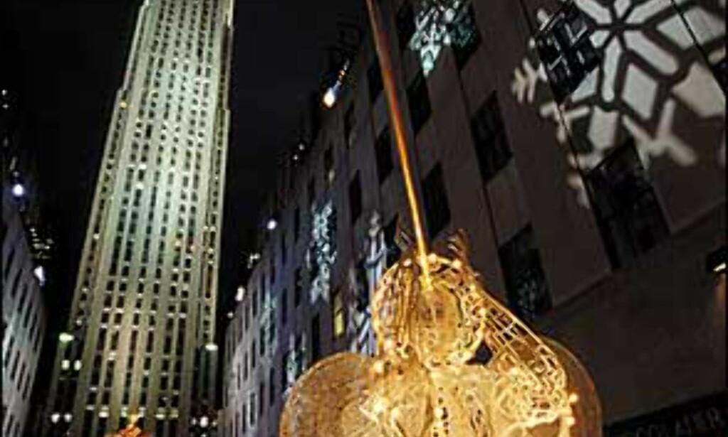 "Basunengler på Rockefeller Center. Bilde: Copyright Jeff Greenberg/NYC & Company, Inc.""  Foto: Copyright Jeff Greenberg/NYC & Company, Inc."