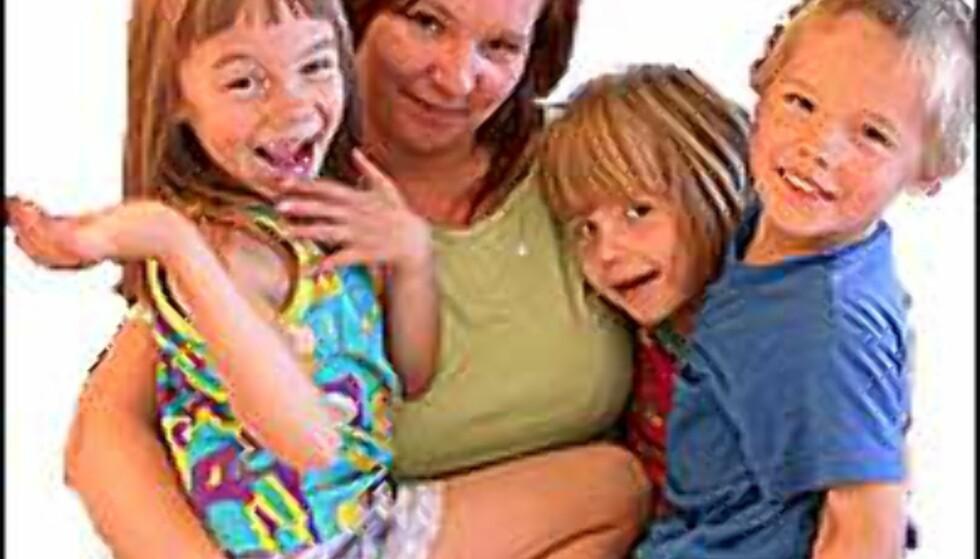 Helel familien på hotell for 250 kroner.  Foto: Inga Holst