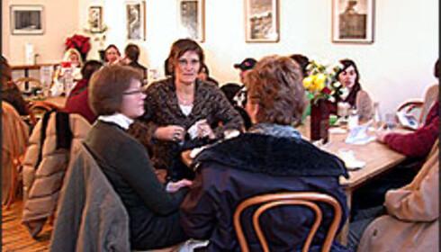 Å få seg et måltid med vin til en hundrelapp er ingen umulighet i Dublin.  Foto: Inga Holst Foto: Inga Holst