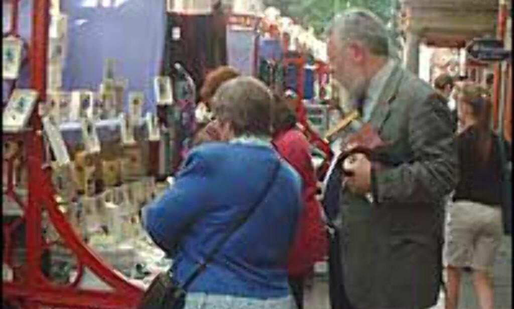 Handle billig i dyre London.<br /> <br /> <I>Foto: Stine Okkelmo</I> Foto: Stine Okkelmo