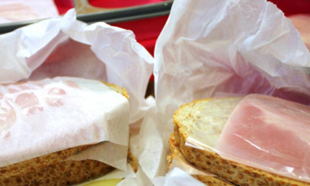 image: Velger du riktig mellomleggspapir, holder matpakka seg bedre