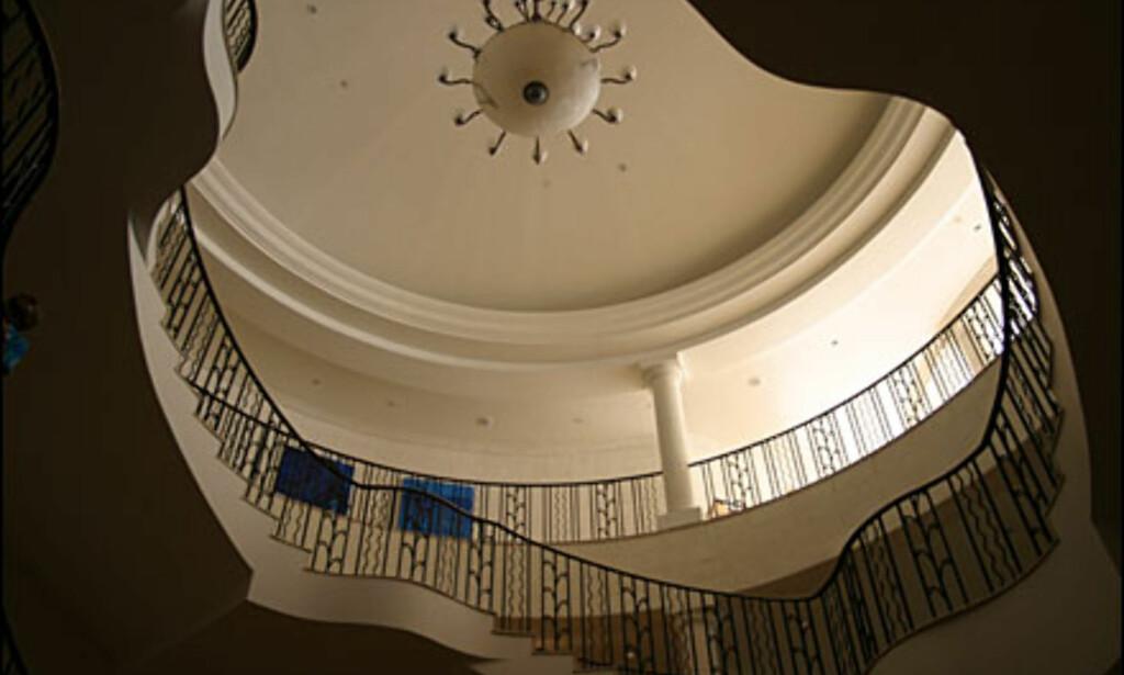 Trappegang med feminine former. (Alle bilder: Dag Yngve Dahle).