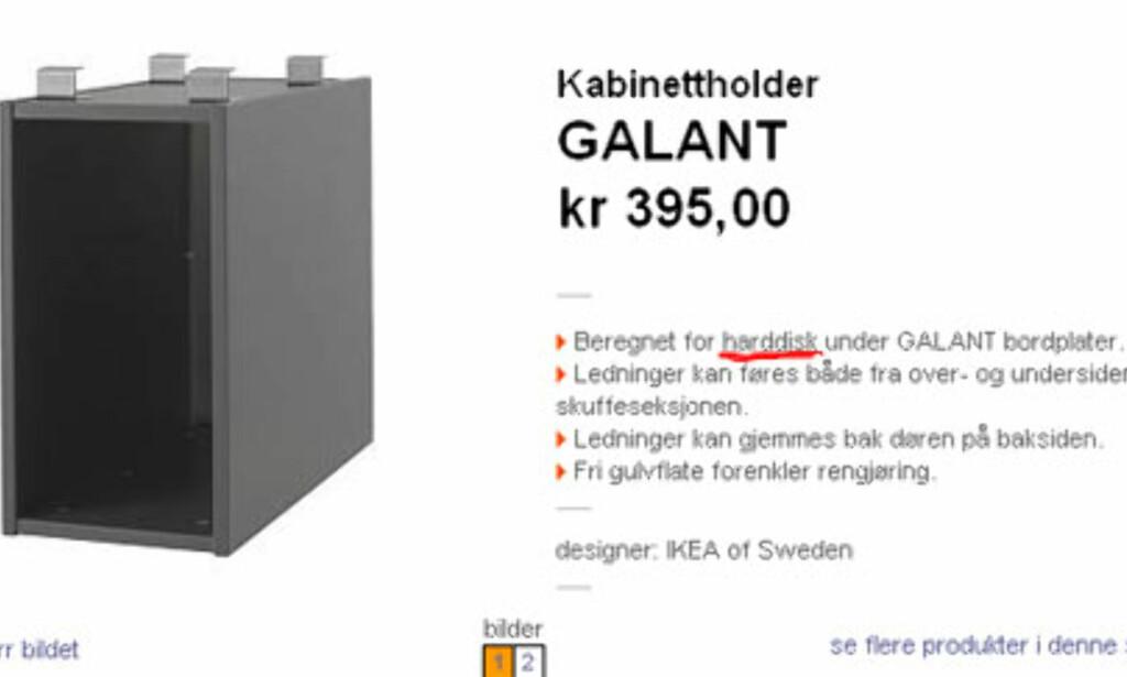 image: Begrepsforvirring hos IKEA - del II