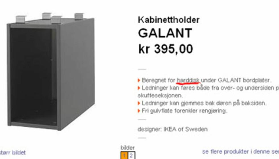 Begrepsforvirring hos IKEA - del II