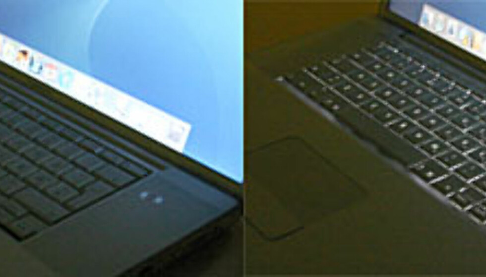 "Apple Powerbook 17""  - stiligere bærbar finnes ikke"