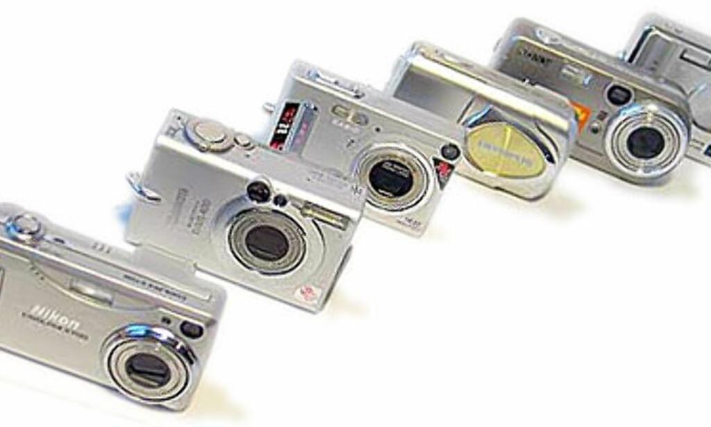 image: Lommevennlige digitalkameraer