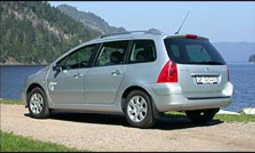 image: 5. Peugeot 307 SW: Den uekte