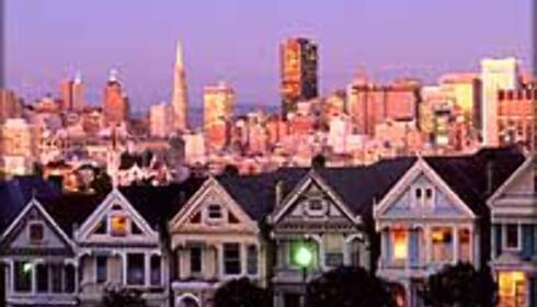 San Francisco er målet, men kommer vår mann frem?