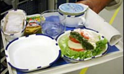 Flymat er ikke kjent for sin høye kvalitet, men er man sulten ...