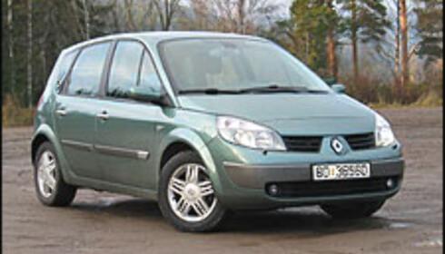 SØLV: Renault Scenic