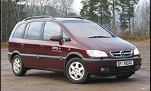 BRONSE: Opel Zafira