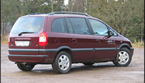 3. Opel Zafira: Overleveren