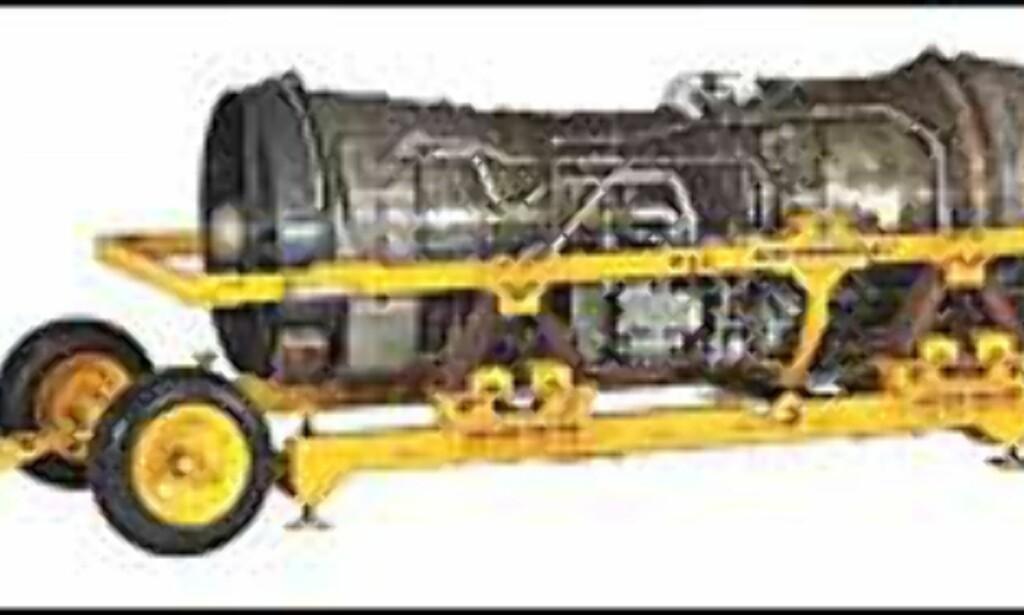 Motor fra Concorde, produsert av Rolls Royce. Prisantydning på auksjon? Mellom 60.000 og 120.000 euro!