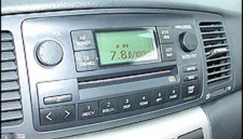 GOD BUSINESS: Business-modeller leveres vanligvis med både vinterdekk, metallic lakk og radio/CD-spiller på kjøpet.